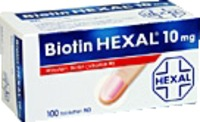 BIOTIN HEXAL 10 mg Tabletten